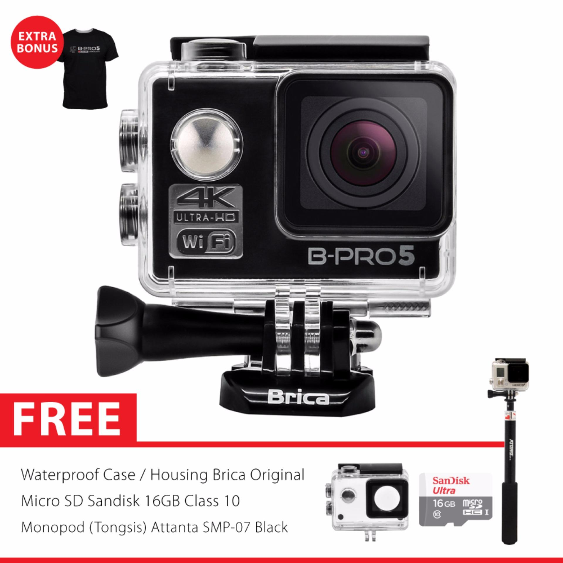 Jual Brica B Pro 5 Alpha Edition Version 2 Ae2 4K Camera Combo Supreme Hitam Brica