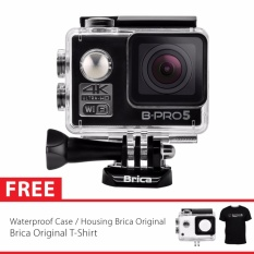 BRICA B-PRO 5 Alpha Edition Version 2 (AE2) 4K WIFI Action Camera - Hitam