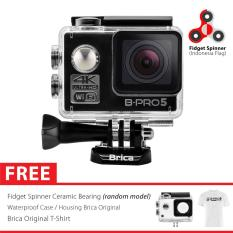 Brica B-PRO 5 Alpha Edition Version 2 AE2 4K WIFI Action Camera SpinIndo - Hitam