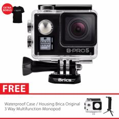 Review Toko Brica B Pro 5 Alpha Edition Version 2 Mark Iis Ae2S 4K Wifi Action Camera 3 Way Monopod Hitam Online