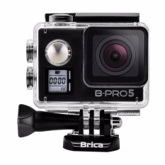 BRICA B-PRO 5 Alpha Edition Version 2 Mark IIs (AE2s) 4K WIFI Action Camera + 3 Way Monopod - Hitam