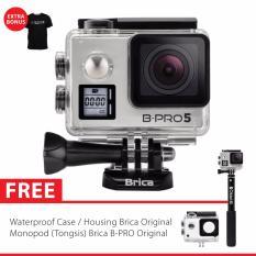 Spesifikasi Brica B Pro 5 Alpha Edition Version 2 Mark Iis Ae2S 4K Wifi Action Camera Tongsis Brica Original Silver Brica Terbaru