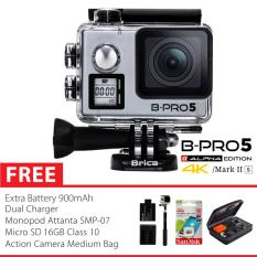 Harga Brica B Pro 5 Alpha Edition Version 2S Ae 2S 4K Wifi Action Camera Silver Combo Extreme Medium Baru