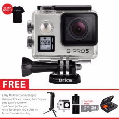 Beli Brica B Pro 5 Alpha Edition Version 2S Ae2S 4K Camera Paket Combo 3 Way Extreme Silver Pake Kartu Kredit