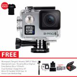 Brica B Pro 5 Alpha Plus Version 2 Ap2 Combo Extreme Action Camera Silver Free Bonus Item Asli