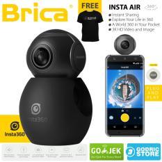 Diskon Brica B Pro Insta360 Air Panoramic Hd 3K Dual Fish Eye Lens Vr Insta 360 Camera Micro Usb Branded