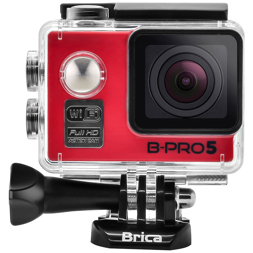 Toko Brica B Pro5 Alpha Edition Action Cam Wifi 12 Mp Merah Online Terpercaya