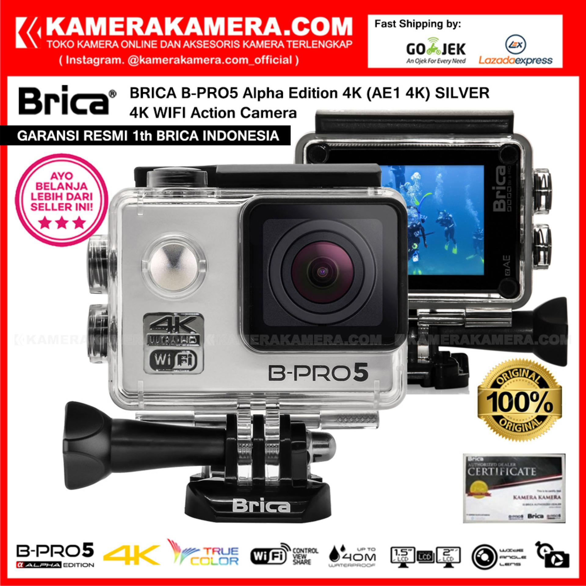 Harga Brica B Pro5 Alpha Edition 4K Ae1 4K Silver 4K Ultra Hd 12Mp Action Camera Garansi Resmi Brica Indonesia Brica Ori