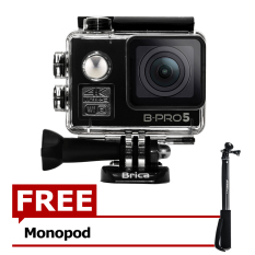 Jual Brica B Pro5 Alpha Edition 4K Ae2 Action Camera Wifi 16 Mp Black Gratis Monopod Murah Di Indonesia