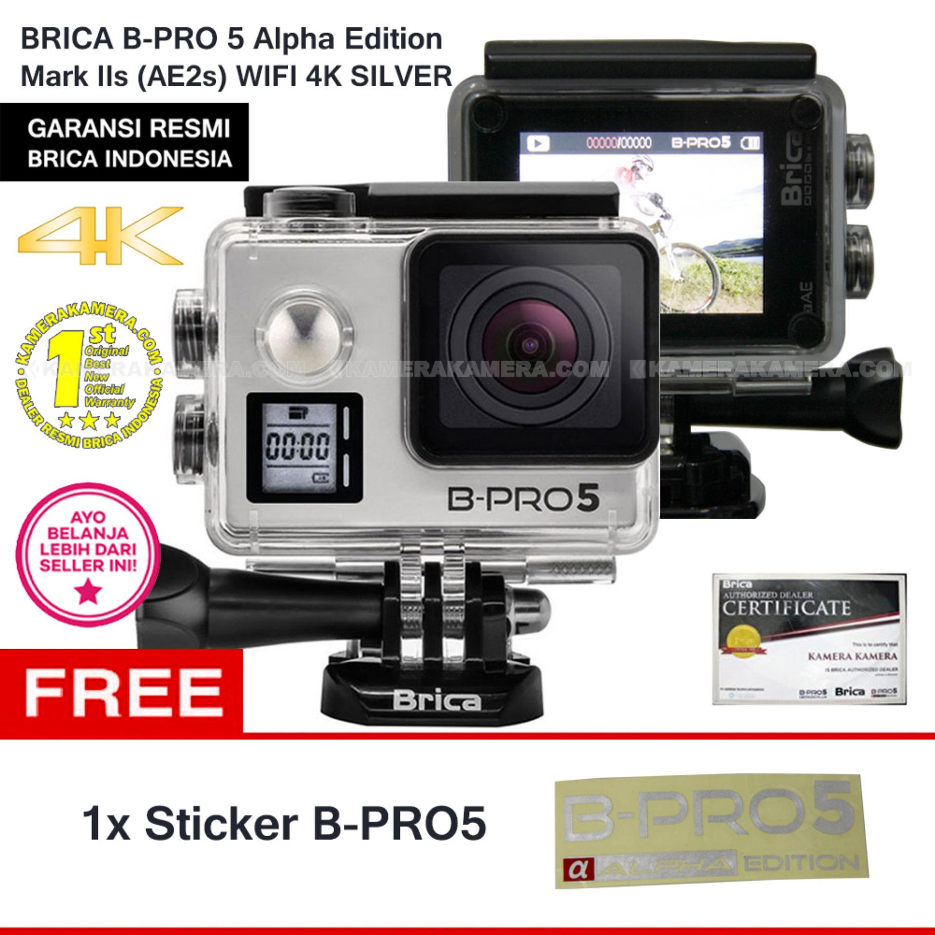 Tips Beli Brica B Pro5 Alpha Edition 4K Mark Iis Ae2S Silver Free Sticker B Pro5