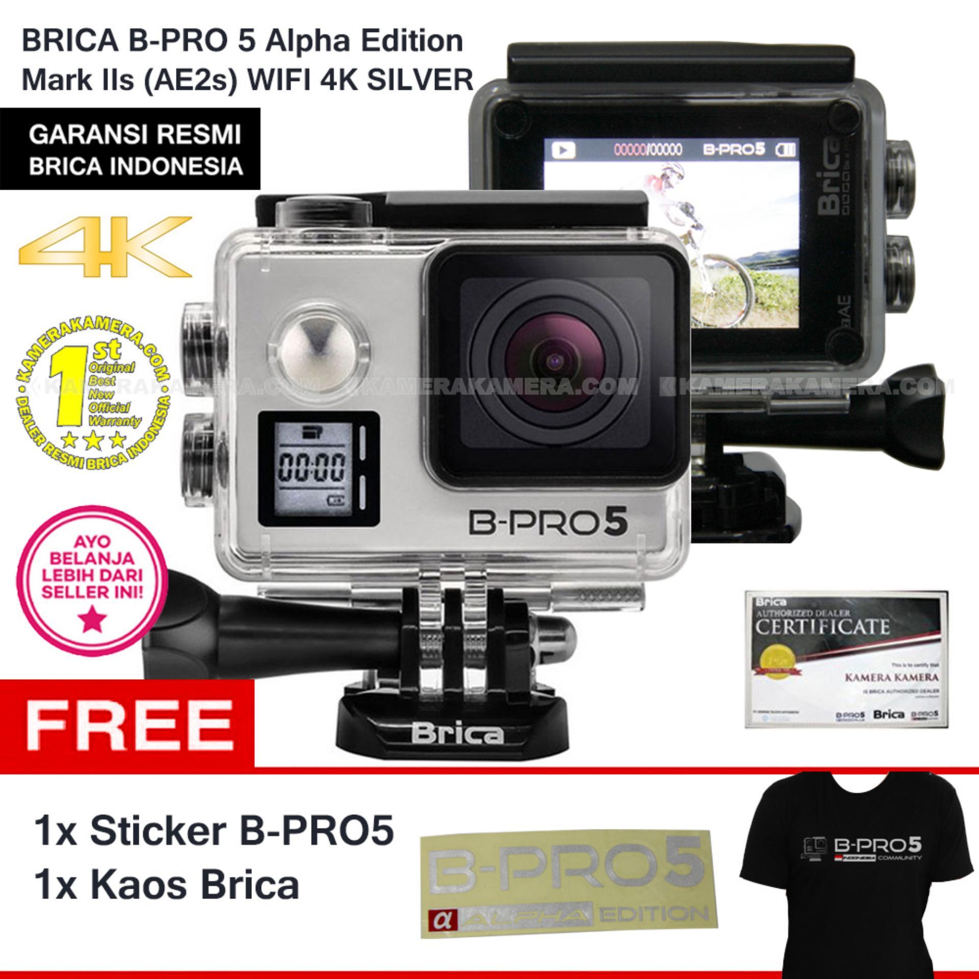 Brica B Pro5 Alpha Edition 4k Mark Iis Ae2s Black Sticker Pro 5 2 Ae2 Combo 3 Way Berrisom Hitam Kaos Lazada Indonesia