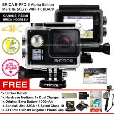 Harga Brica B Pro5 Alpha Edition 4K Mark Iis Ae2S Black Sticker B Pro Sandisk Ultra 32Gb Speed48 Class10 Tongsis Attanta Smp 09 Original Phone Clip Battery 1000 Mah Charger Hardcase Medium Brica Dki Jakarta