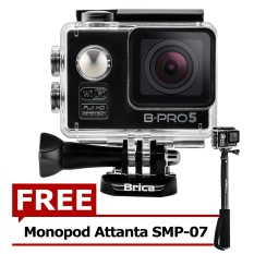 Beli Brica B Pro5 Alpha Edition Action Camera Wifi 12 Mp Hitam Gratis Attanta Smp07 Brica