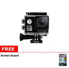 Brica B-Pro5 Alpha Edition Mark II Action Cam + Free LCD Screen Guard