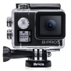 BRICA B-Pro5 BPRO 5 Alpha Edition 4K Mark 2s IIS (AE2S) Version 2 Action Camera Wifi - Microphone - Front Lcd - 16 Mp - Black