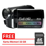 Diskon Brica Dv H6 Camcorder Fullhd Max 16 Mp Hitam 16 Gb Brica Di Indonesia