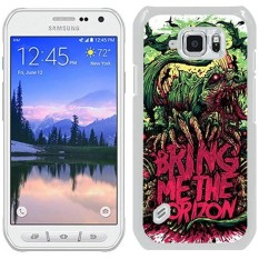 Bring Me The Horizon White Shell Case for Samsung Galaxy S6 Active,Unique Cover - intl