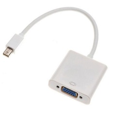 Broadfashion Cincin Mini DisplayPort Ke Adaptor Vga Kabel untuk Apple MacBook Pro iMac Air Mac Mini-Intl