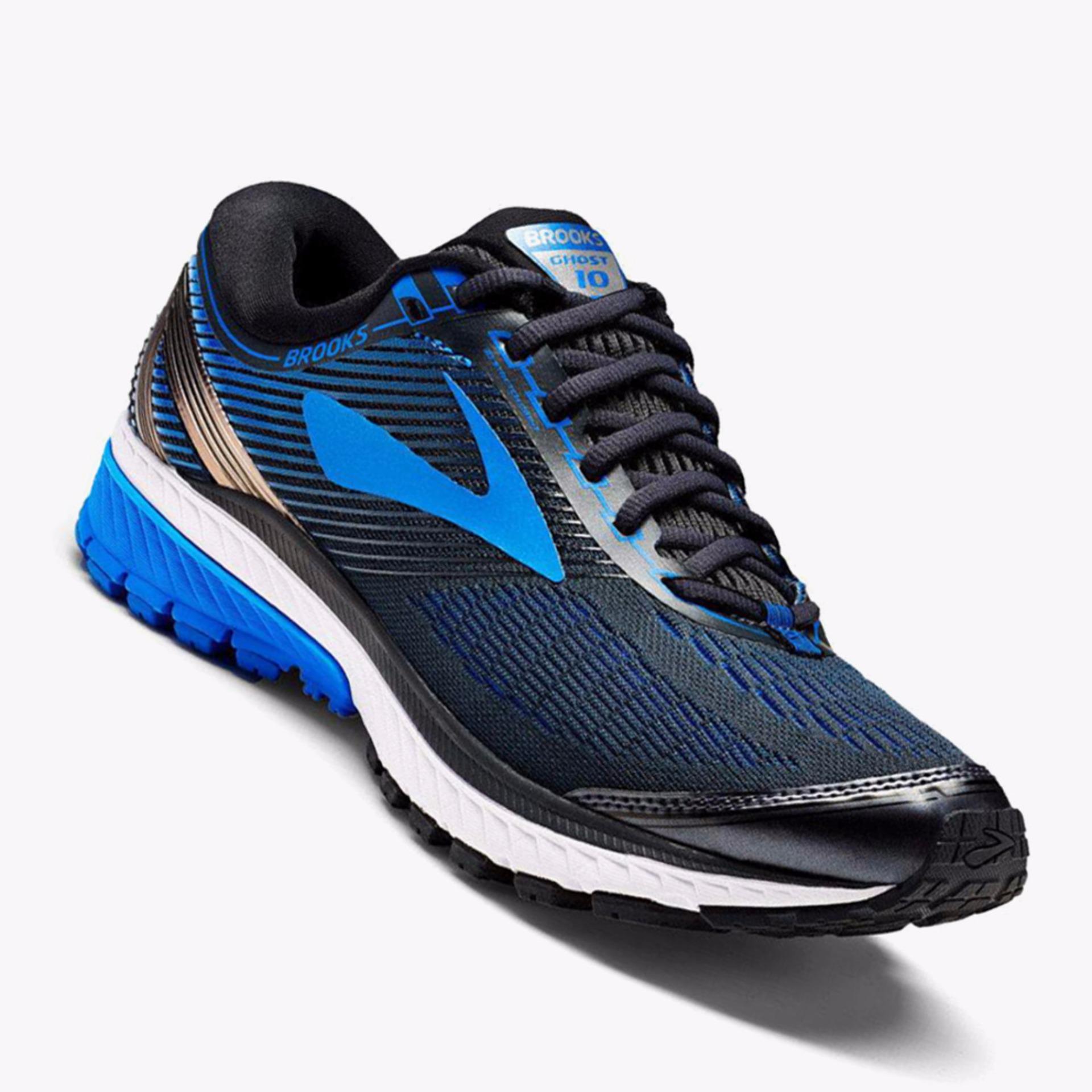 Harga Brooks Ghost 10 Men S Running Shoes Normal D Biru Asli Brooks