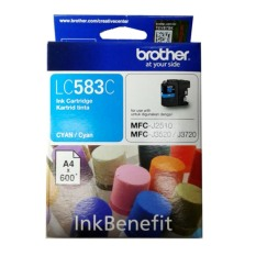Model Brother Cartridge Lc583 Cyan Ink Original Terbaru