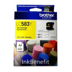 Model Brother Cartridge Lc583 Yellow Ink Original Terbaru