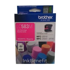 Brother Tinta Printer LC 583 Magenta