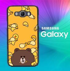 Brown Line Icon G0151 Casing Custom Hardcase Samsung J1 Ace Case Cover