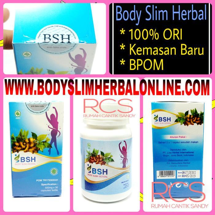 BSH ~ Body Slim Herbal ~ NEW SEGEL ~ BISA Di TRACK ~ Terdaftar Di WEBSITE