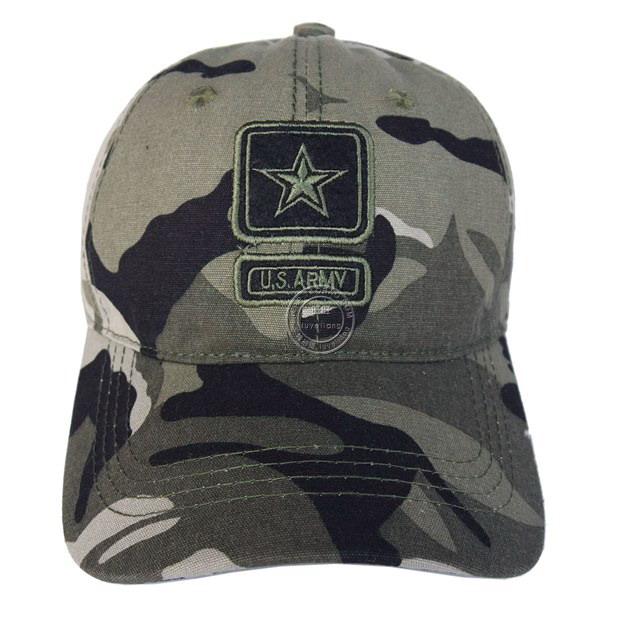 Beli Btt016 Kanvas Untuk Pria Dan Wanita Musim Semi Dan Musim Panas Kamuflase Topi Kamuflase Amerika Serikat Bintang Standar Militer Secara Angsuran