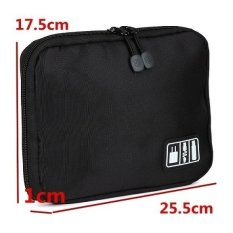 Spek Bubm Gadget Organizer Bag Portable Case Dis L Hitam