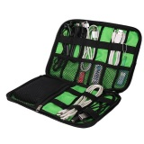 Penawaran Istimewa Bubm Gadget Organizer Bag Portable Case Dis L Hitam Hijau Terbaru