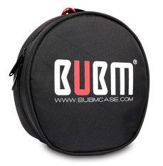 Toko Bubm Headphone Headset Membawa Case With Tas Penyimpanan Kantong Campuran Aluminium Melengkung Hitam Termurah