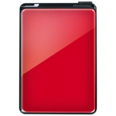 Buffalo MiniStation Plus 500 GB USB 3.0 Portable Hard Drive with Data Encryption & Shock Protection - Red