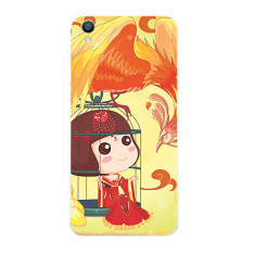Plastik Hard Back Phone Case untuk HTC Desire 310 (Multicolor)