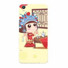 Plastic Hard Back Phone Case for HTC Desire 610 (Multicolor)