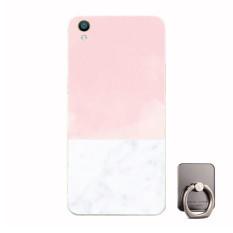 BUILDPHONE Plastik Hard Back Phone Case untuk Huawei Ascend G740 dengan Pemegang Telepon Ring (Multiwarna)-Intl