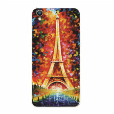 BUILDPHONE Plastic Hard Back Phone Case for Lenovo A3900 with Tempered Glass Screen Guards (Multicolor) - intl