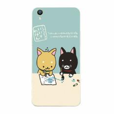 Buildphone Plastik Hard Back Casing Ponsel untuk LG Optimus F60/LS660 (multicolor)-Intl
