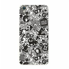 BUILDPHONE Plastik Hard Back Phone Case untuk LG T375 (Multicolor)-Intl