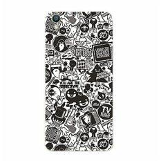 Buildphone Plastik Hard Back Casing Ponsel untuk Microsoft Lumia 850 dengan Tempered Glass Screen Guards (multicolor)-Intl