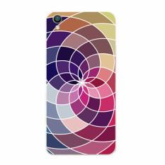 Plastic Hard Back Phone Case for VIVO V2 (Multicolor)