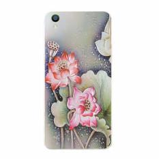Plastik Hard Back Casing Ponsel untuk VIVO Y15 (multicolor)