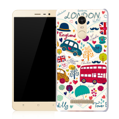 BUILDPHONE TPU Sof Phone Case for LG G3 Stylus/D690 (Multicolor) - intl