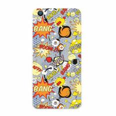 Buildphone TPU Sarung Lunak Browser untuk Huawei G740 (Multicolor)-Intl