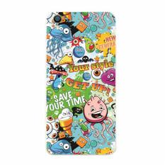 Buildphone TPU Soft Casing Ponsel untuk LG F60/d390n (multicolor)-Intl