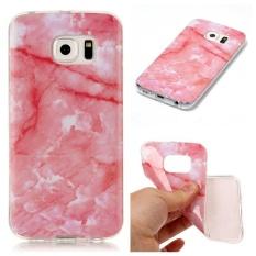 Bujing Dark Pink Lembut dan Pelindung Slim TPU Case untuk Samsung Galaxy S6 Edge (5.1 Cm)-Internasional
