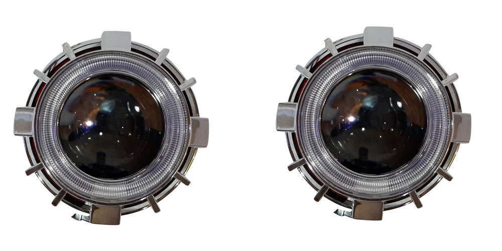Bullaes Lampu Projector Hid Xenon Double Angel Eyes G1 Aes 6 2 Pcs Original