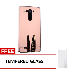 ... Rose Gold Tempered Source · Slide Mirror Black Source Phone Cases BUMPER