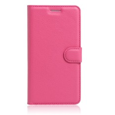 Bisnis Pu Dompet Kulit Kasus Telepon [untuk Alcatel Flash Mini OT4031D] Klasik Kualitas Tinggi Anti-Benturan Seluler tas Telepon & Sarung Hwdz (Hitam) -Internasional