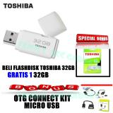 Jual Buy 1 Get 1 Flashdisk Toshiba 32Gb Free Otg Original
